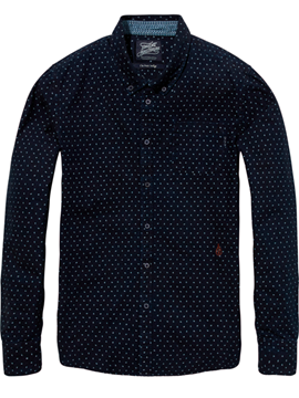 Bilde av AMS BLAUW ALLOWER BUTTON SHIRT