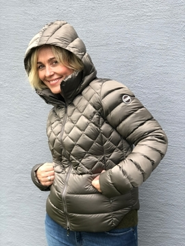 Bilde av LADIES DOWN JACKET METALLISK