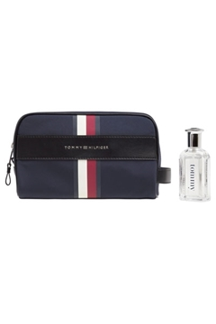 Bilde av Elevated Washbag TOMMY NAVY *
