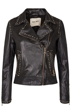 Bilde av Rebel Leather Jacket