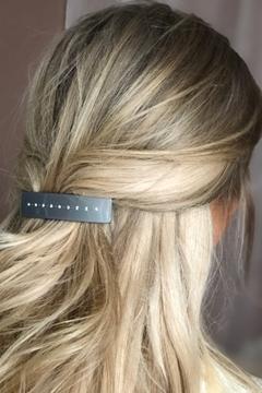 Bilde av Crystal Hair Clip Large LIGHT GREY *