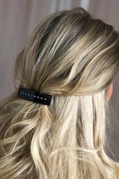 Bilde av Crystal Hair Clip Large CHOCOLATE BROWN *