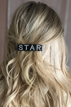 Bilde av Star Hair Clip Large CHOCOLATE BROWN *