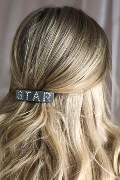 Bilde av Star Hair Clip Large LIGHT GREY *