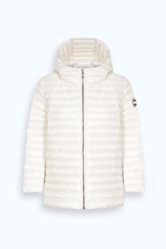 Bilde av Ladies Down Jacket Hvit
