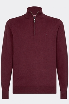 Bilde av Organic Cotton Silkk Zip Mock