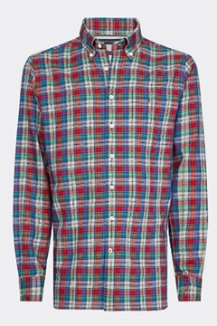 Bilde av Melange Multi Check Shirt