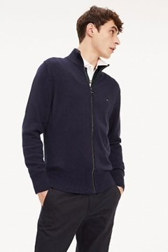 Bilde av Pima Cotton Cashmere Zip Trough