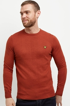 Bilde av Crew Neck Cotton Merino Jumper