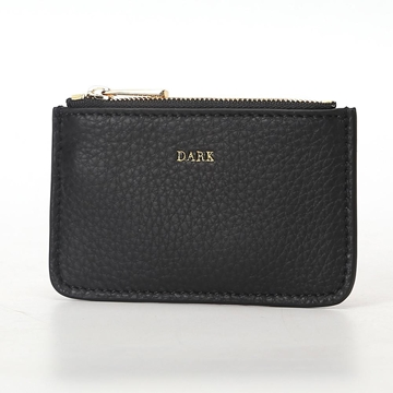 Bilde av Leather Coin Pouch BLACK W/GOLD *