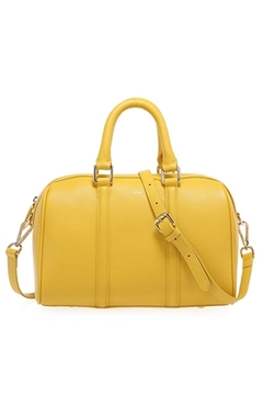 Bilde av Leather Bowler Small YELLOW *