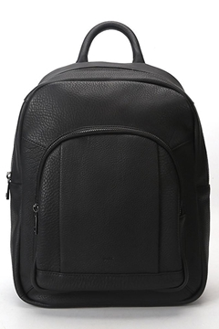 Bilde av Leather Backpack BLACK W/GOLD *