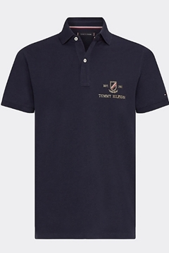 Bilde av Icon Gold Embroidery Slim Polo