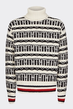 Bilde av Oversized Fairisle Roll Neck