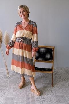Bilde av Board LS Midi Dress