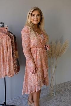 Bilde av Floral LS Wrap Dress