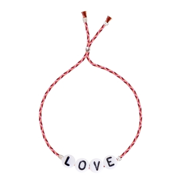 Bilde av Love Glass Letter STRAWBERRY RIBBON *