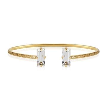 Bilde av Baguette Bracelet Gold CRYSTAL *