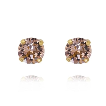 Bilde av Classic Stud Earring Gold VINTAGE ROSE *