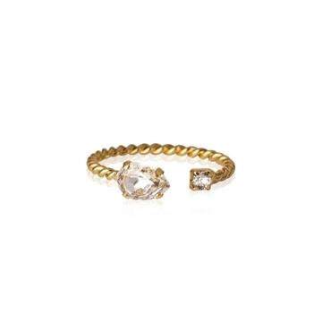 Bilde av Nani Ring Gold CRYSTAL *