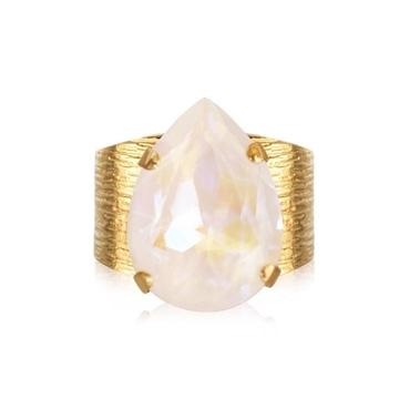 Bilde av Classic Drop Ring Gold LIGHT DELITE *
