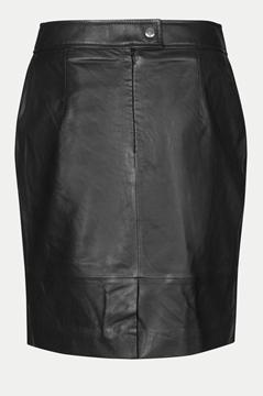 Bilde av Francie Mini Leather Skirt