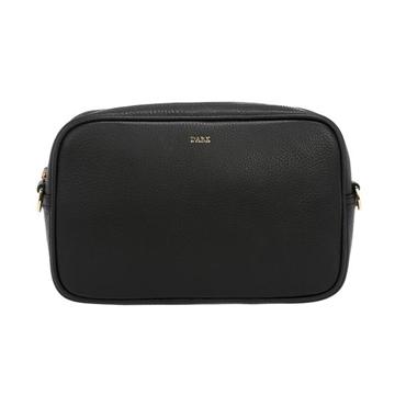 Bilde av LEATHER BOX BAG BLACK W/GOLD *