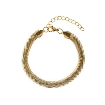 Bilde av Snake Chain Bracelet GOLD *